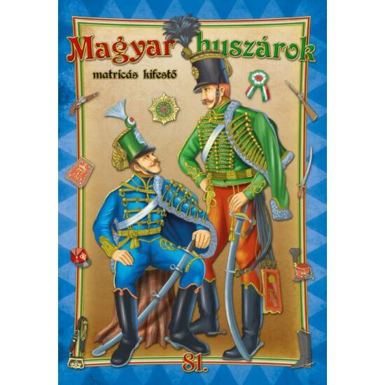 Kifestő 81. szám - Magyar huszárok (matricás)