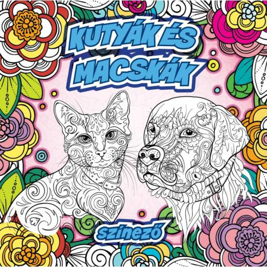 Kutyák és macskák színező