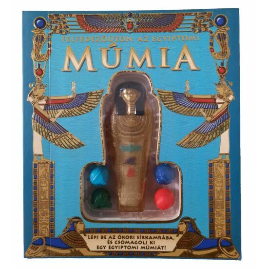 Felfedezőúton : Az egyiptomi múmia - ismeretterjesztő könyv és modell